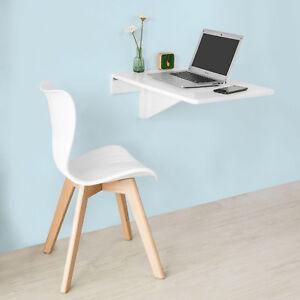 SoBuy®Mesa plegable de pared,cocina,mueble infantil,70x45cm,blanco ...