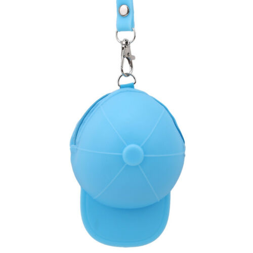 Casquette de baseball Forme changement portefeuille sac Grand Case Key Chain Porte-clé de rangement pour pièces de monnaie