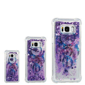 Windbell Painting Soft Liquid Glitter Quicksand TPU Case Cover For Android Phone