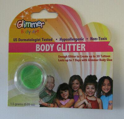Glimmer Body Art Glitter Hyperallergenic US Dermatologist Tested Non-Toxic NEW