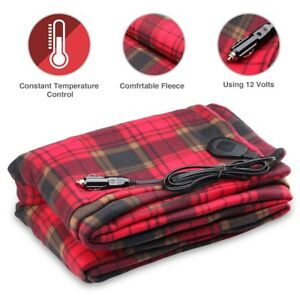 Image Is Loading 12v Heated Travel Electric Blanket Car
