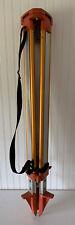 Aluminum Metal Frame Survey Tripod Adjustable Legs Surveying Used