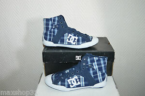 CHAUSSURE-DC-SHOES-CHELSEA-TAILLE-36-US-5-W-SKATE-BASKET-ZAPATOS-NEUF-TOILE