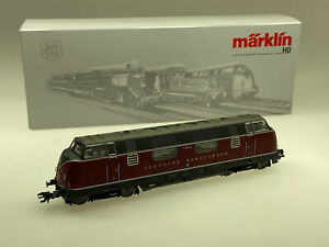 Marklin-H0-Diesel-Locomotive-V200-052-DB-Various-Car