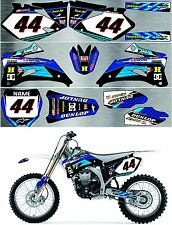 YAMAHA YZ250F YZ450F 2006/2009 DECAL GRAPHIC FULL KIT