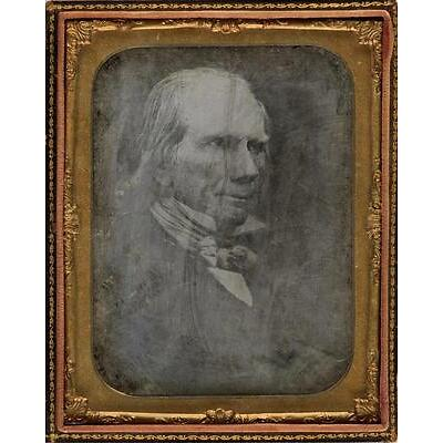 4. HENRY CLAY (1777-1852) Half-plate daguerreotype of the American statesm... Lot 4