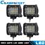 4X-4-Inch-200W-CREE-LED-Work-Light-Bar-Pods-Flush-Mount-Combo-Driving-12V-Spot miniature 1