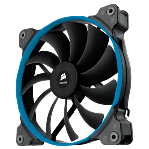 Details about Corsair AF140 Quiet Edition High Airflow 140mm Fan 1150RPM  Three colored rings