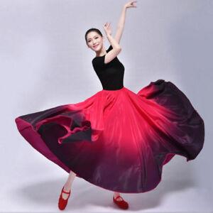 310b50901 Latin Dance Skirts Practice Modern Ballroom Belly Dancing Dresses