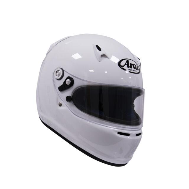 Arai SK-6 White XS K2010 Kart Racing Helmet