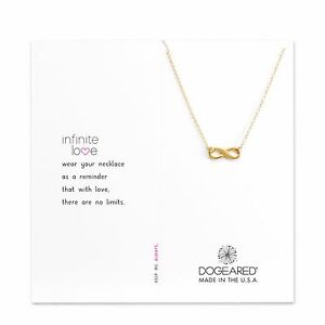 Dogeared gold dipped small infinite love 16 18 infinity boxed image is loading dogeared gold dipped small infinite love 16 034 aloadofball Image collections