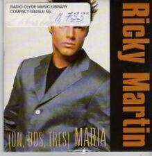 (BP852) Ricky Martin, María - DJ CD