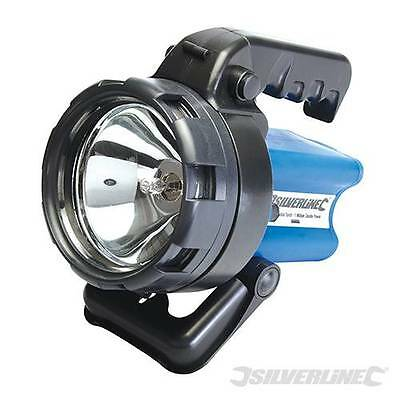 Silverline Rechargeable Torch 1 Million Candle Power AP999666
