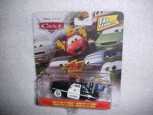 HW-DISNEY-PIXAR-CARS-034-TEAM-95-AND-51-SHERIFF-034-FAN-FAVORITES-VHTF-NEW-MATTEL-CAR