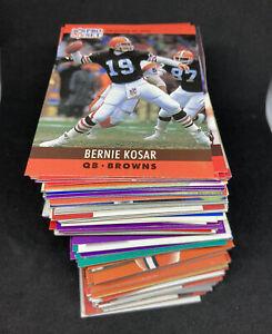 190x *RANDOM* Cleveland Browns Cards 80s & 90s Base NFL Bundle Lot