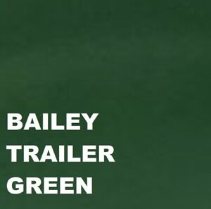 Bailey Trailer Green Paint Machinery Enamel 1Lt paint Brush or Spray 1000ml