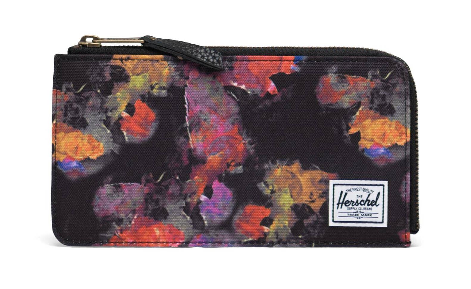 Herschel Jack Large RFID Wallet Geldbörse Schwarz