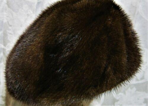 Vintage I. Magnin Mink Cap - image 1