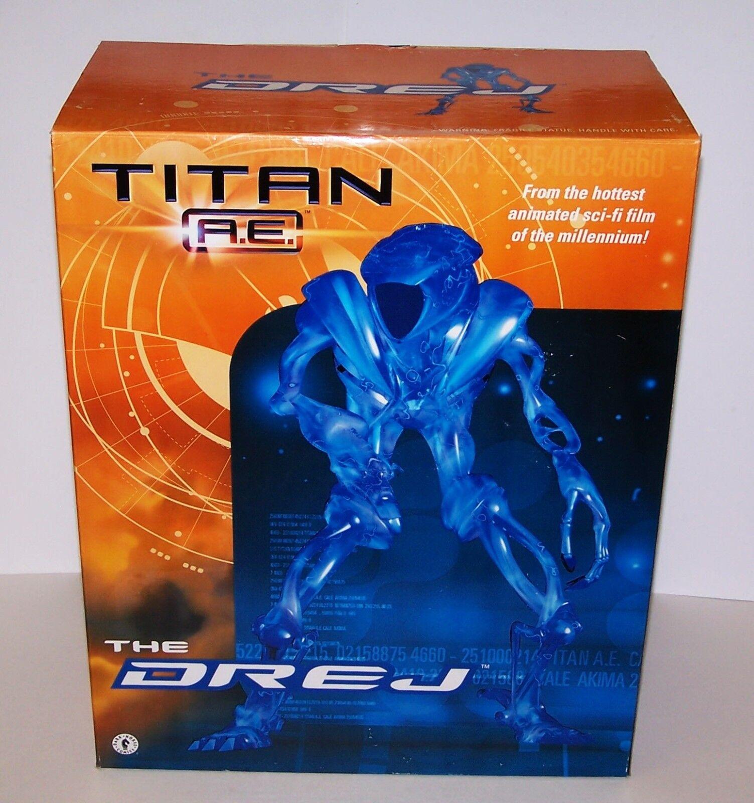 Titan A E The Drej 12  Statue  2000 NIB Sealed Hottest Sci-Fi Film Ever