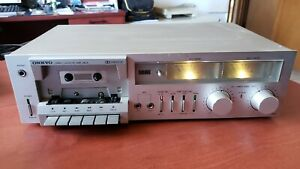 Onkyo-TA-1900-Vintage-Stereo-Cassette-Deck-For-Repair-Clean-Unit