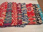 Indian Handmade Quilt Vintage Kantha Bedspread Throw Cotton Blanket Gudri a3