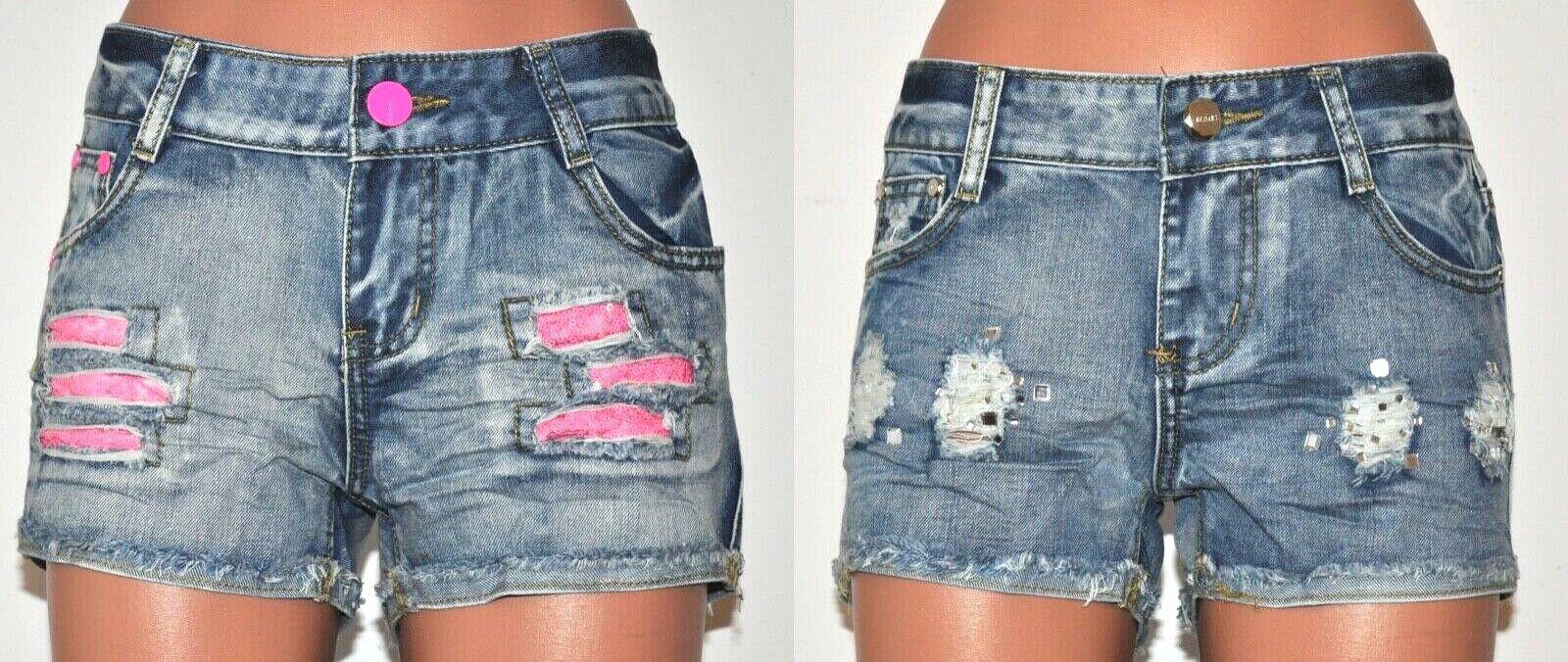 Jeans Short HotPants Noemi Kent kurze Hose Blau Gr. 36 / 38 / 40 / 42