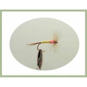 8 Caenis Nymph Trout Fly Mixed Pack 10//12//14 Fishing Flies Fly Fishing