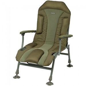 Trakker-Levelite-Long-Back-Chair-Padded-Green-Fishing-NEW-217605