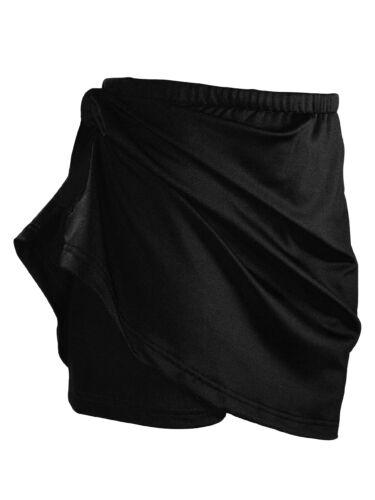 Girls Kids Children Black Skort Running Dance Gymnastics Sports PE Activewear ›