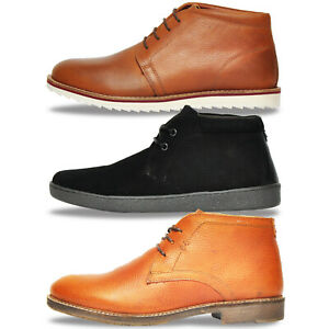 Red-Tape-REAL-LEATHER-Designer-Chukka-Ankle-Desert-Boots-From-17-99-FREE-P-amp-P