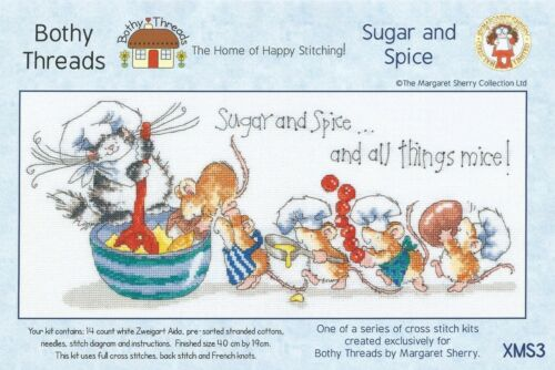BOTHY THREADS SUGAR AND SPICE MARGARET SHERRY CROSS STITCH KIT 2015