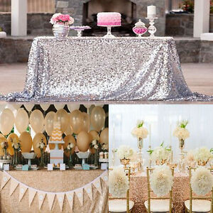 Blue sparkly sequin tablecloth 130cm square for wedding dessert image is loading blue sparkly sequin tablecloth 130cm square for wedding junglespirit Image collections