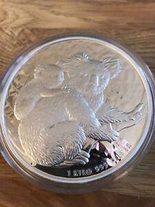 AUSTRALIA KOALA Moneda de plata 30 dolares. 1 Kg. Pureza 999. Año 2008. Rara - España - AUSTRALIA KOALA Moneda de plata 30 dolares. 1 Kg. Pureza 999. Año 2008. Rara - España