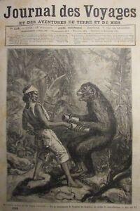 Zeitung-der-Voyages-Nr-334-von-1883-Indo-China-der-Affen-Ringer-Ecole-Marine