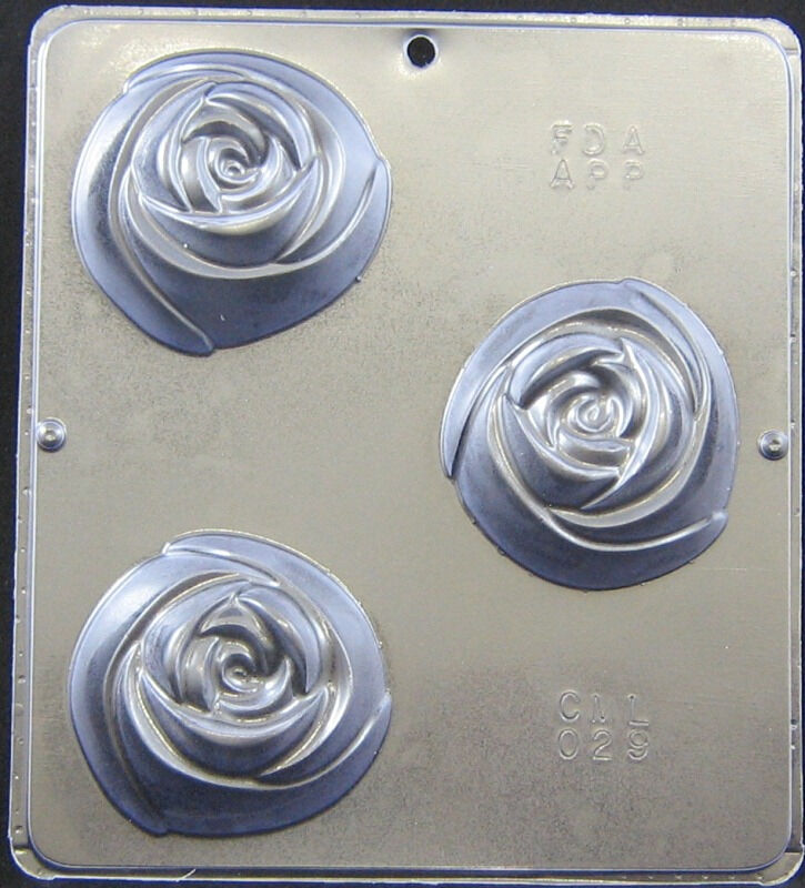 25 Rosa 7.6cm Gussform für für für Seife oder Schokoladen Bonbons Gussform + 029 Neu | Queensland  dc07bc
