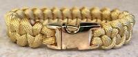 Gold Blingsurvival Braceletstylish Jawbone 1 Color 550 Paracordlk