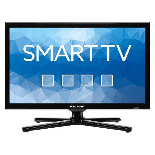 "Megasat Royal Line II 19 Smart TV Camping 18,5"" LED DVB-S2/-T2/-C Fernseher 12V"