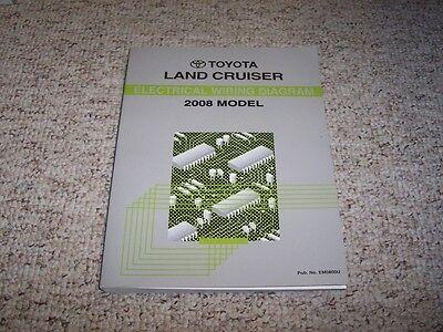 2008 Toyota Land Cruiser Electrical Wiring Diagram Manual ...