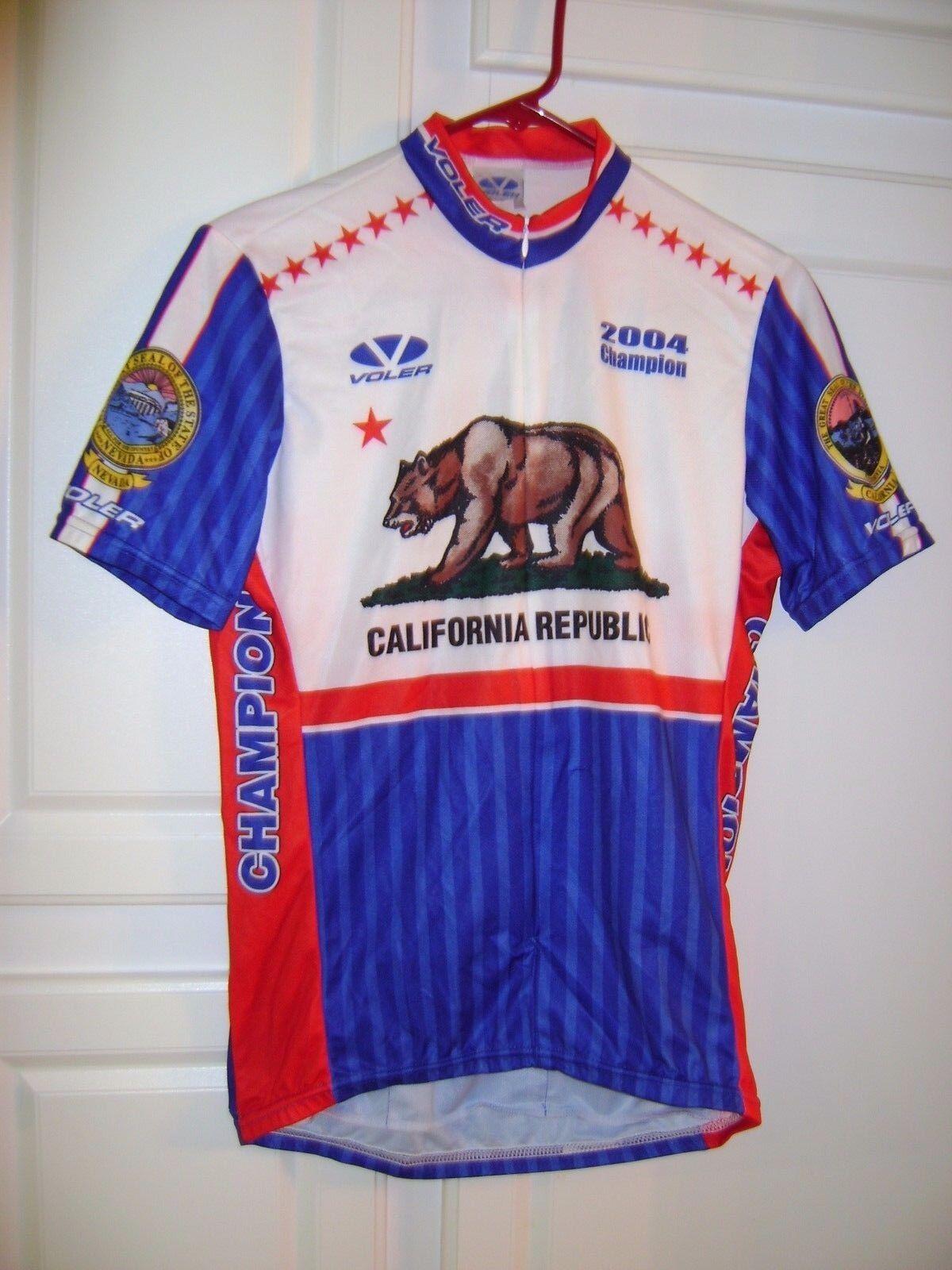 Voler Vintage Cycling JERSEY 2004 California State Champion Men's Medium