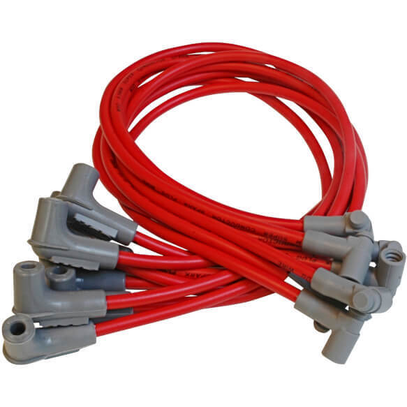 MSD 31249 8.5mm Super Conductor Spark Plug Wire Set for SBC low profile