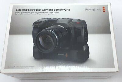 Blackmagic Design Pocket Cinema Camera 6k 4k Battery Grip New Ebay