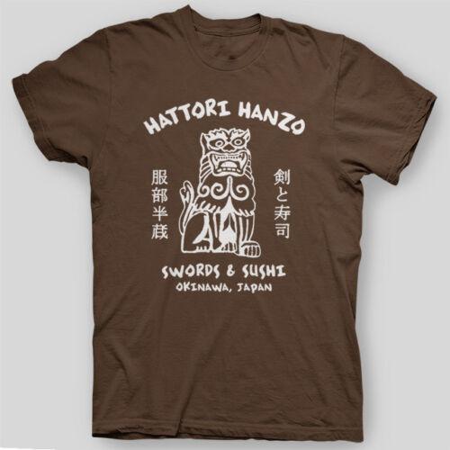 HATTORI HANZO SWORDS Kill Bill Beatrix TARANTINO Pulp Fiction T-Shirt SIZES S-5X