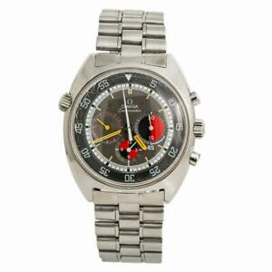 Omega Seamaster 145.019 Soccer Mens Automatic Vintage Watch Chronograph 41mm
