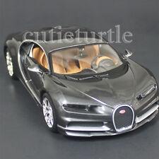 Maisto Bugatti Chiron 1:24 Diecast Model Toy Car 31514 Grey