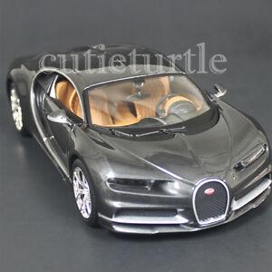 Maisto Bugatti Chiron 1:24 cast Model Toy Car 31514 Grey ...