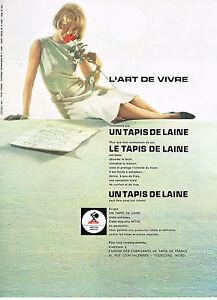 I Publicité Advertising 1961 Antimites Mitin Collectibles