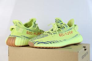 1e909b888 Adidas Yeezy by Kanye West Boost 350 V2 Yebra Semi Frozen Yellow Red ...