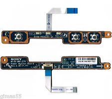Sony VAIO VGN-NR21Z PCG-712M  Scheda Pulsanti (Power switch board) M730 SWX-279