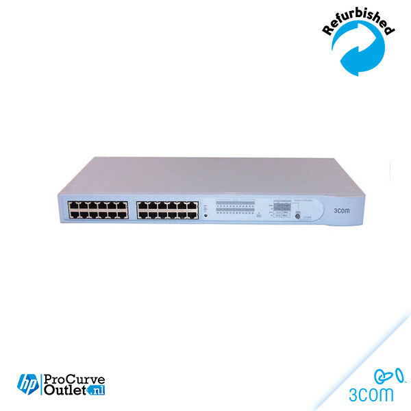 3Com® Switch3300XM Switch 24Port 3C16985B