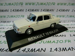 RE78G-voiture-1-43-IXO-serie-Balkan-RENAULT-R-10-Major-blanche